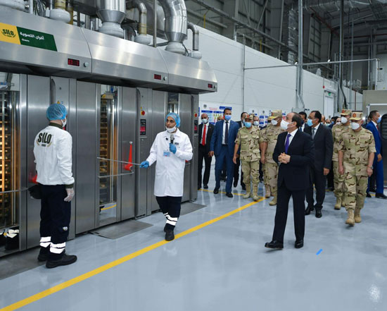 الرئيس السيسى: نستهدف الوصول إلى منتج غذائى متكامل يحقق التوازن فى الأسعار