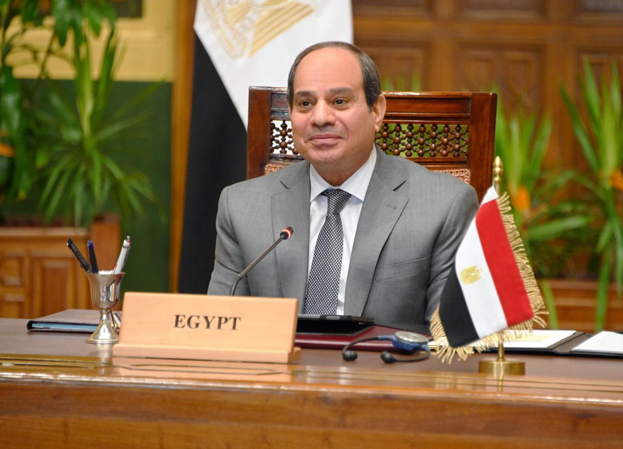 الرئيس السيسى يشيد بالعلاقات الأخوية المتينة بين مصر والإمارات
