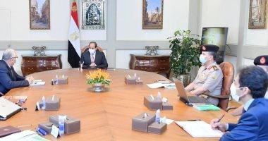الرئيس السيسى يوجه بتطوير واستغلال القرية البحثية المقامة بتوشكي