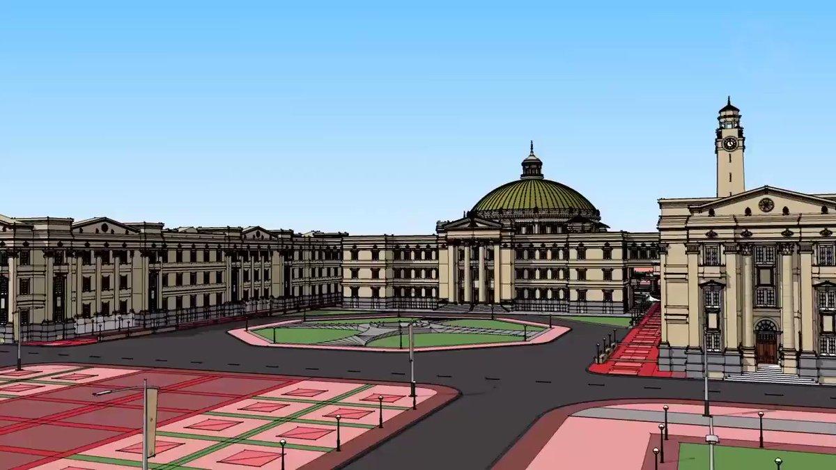 مشروع جامعة القاهرة الدولية، والمقام في مدينة 6 أكتوبر
