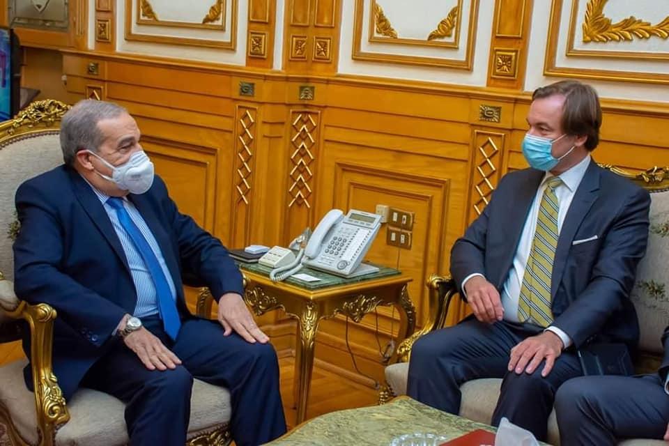 توقيع بروتوكول تعاون ومذكرة عدم إفشاء السرية بين  للإنتاج الحربى  سيمنز للصناعات