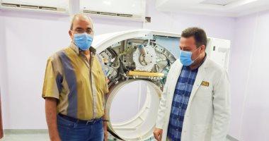 """""""صحة الغربية"""" تعلن عن وصول أحدث جهاز للأشعة المقطعية بمستشفى زفتى العام"""