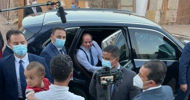 جولة تفقدية للرئيس السيسى بمنطقة مساكن الرويسات بشرم الشيخ