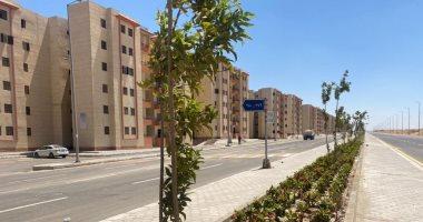 الانتهاء من تنفيذ طريق شرق الواحة.. والتجهيز لتسليم أراضي الإسكان المميز