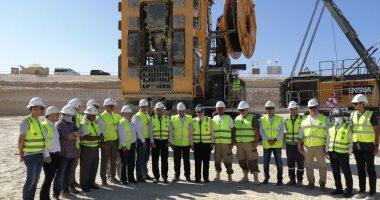 انطلاق الأعمال التحضيرية لحفرة الأساسات لأول مفاعل نووى بالضبعة