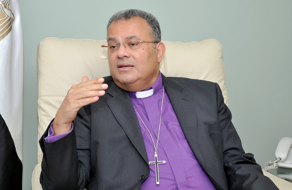 أندريه زكي يفتتح الكنيسة الإنجيلية بالناصرية بعد إعادة بنائها بالكامل غدا
