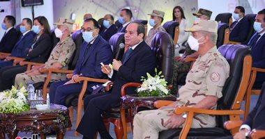 الرئيس السيسي يشهد تدشين مشروعات قومية جديدة..
