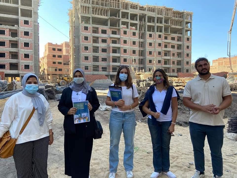 مشروع الاسكان بمنطقة الحواتم بمعدل 1100 وحدة سكنية