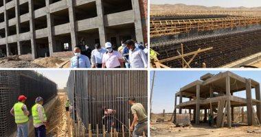 654 قرية تشهد تنفيذ أعمال الصرف الصحى ضمن مشروعات حياة كريمة