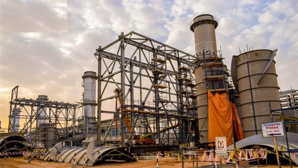 محطة توليد غرب أسيوط الغازية