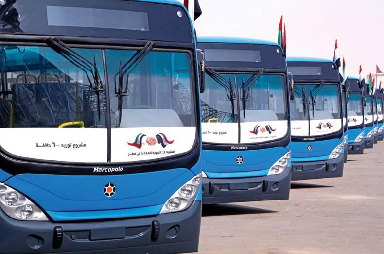 توفير 600 أتوبيس لهيئة النقل العام بالقاهرة