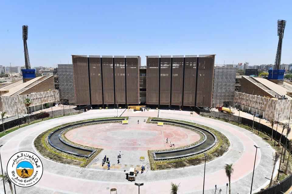 تجديد استاد القاهرة الدولي