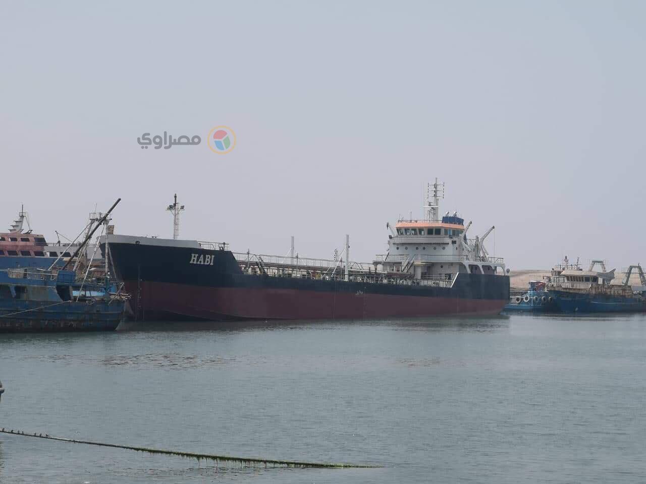 ناقلة النفط المصرية حابى