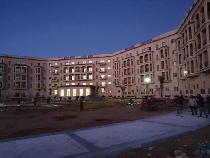 """مقر قيادة الجيش المصرى الجديد """"الأوكتاجون"""""""