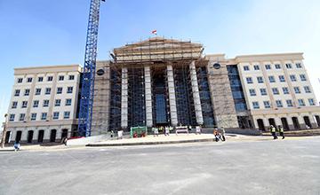 مقر مجلس الوزراء بمدينة العلمين الجديدة