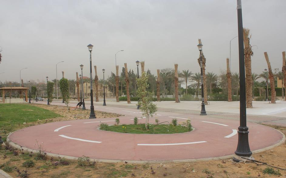 تطوير محور جمال عبد الناصر