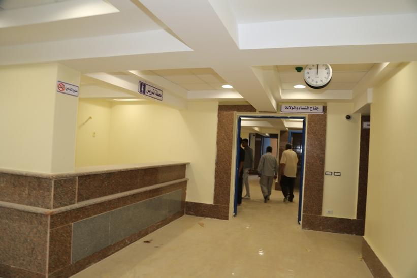 تطوير  مستشفى ابو تشت العام