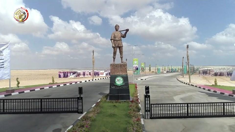مصنع الفرز والتعبئة بقاعدة محمد نجيب