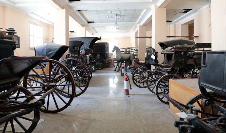 تطوير متحف المركبات الملكية ببولاق