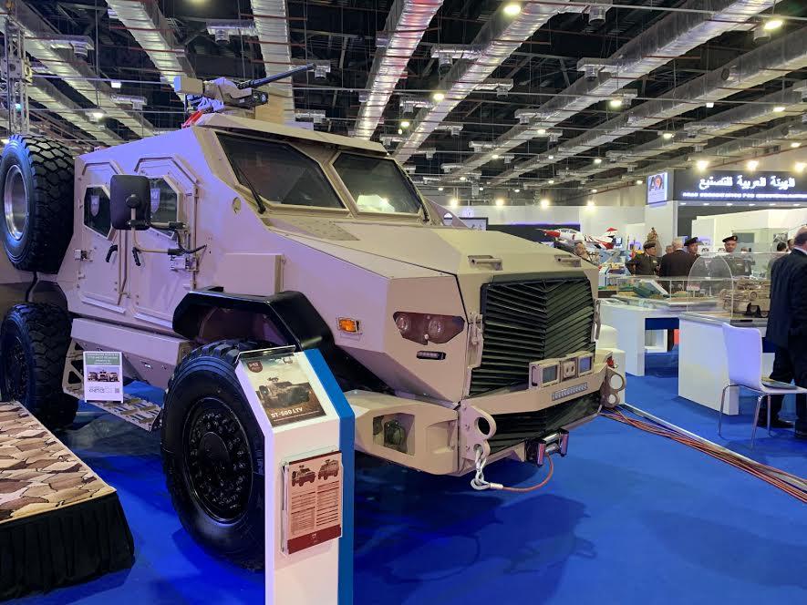 المدرعة ST-500 LTV المصرية