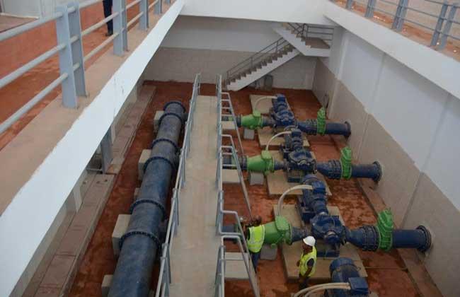 محطة مياه الشرب بالجلاء