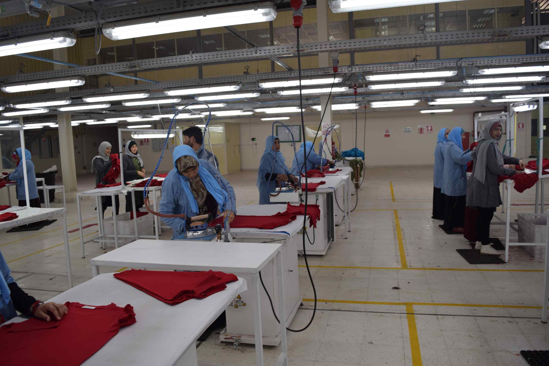 مصنع ملابس المنيا