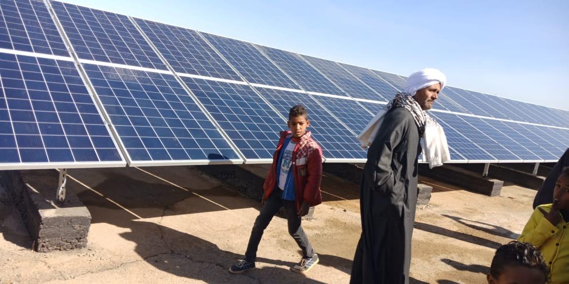 محطة طاقة قرية كلابشة
