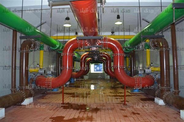 محطة مياه بني أحمد الشرقية