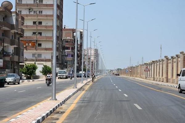 تطوير شوارع مدينة الزقازيق