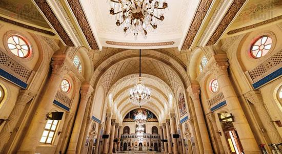ترميم الكاتدرائية المرقسية بالإسكندرية