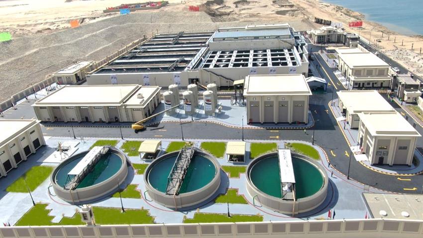 محطة معالجة مياه مصرف المحسمة