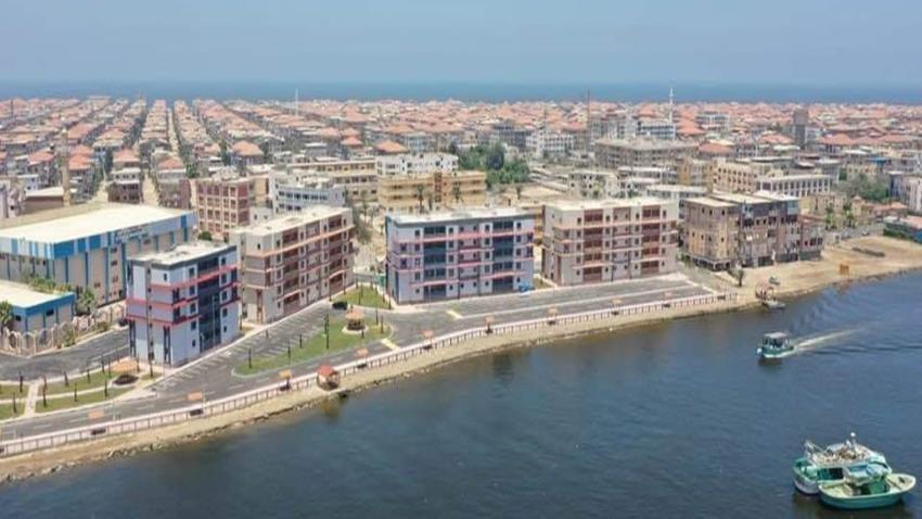 تطوير شمال وجنوب منطقة الصيادين بمدينة راس البر