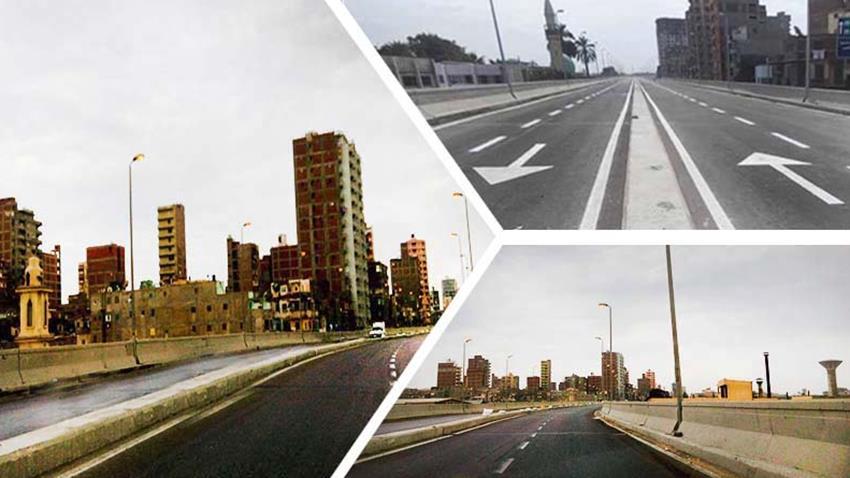 تطوير كوبري ٢٧ بميناء الإسكندرية