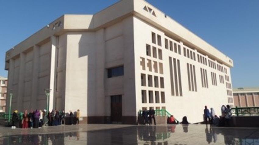 مجمع المدرجات وقاعة المؤتمرات بجامعة سوهاج