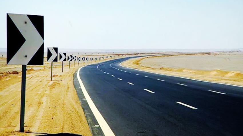تطوير القطاع الغربي من طريق الشيخ فضل