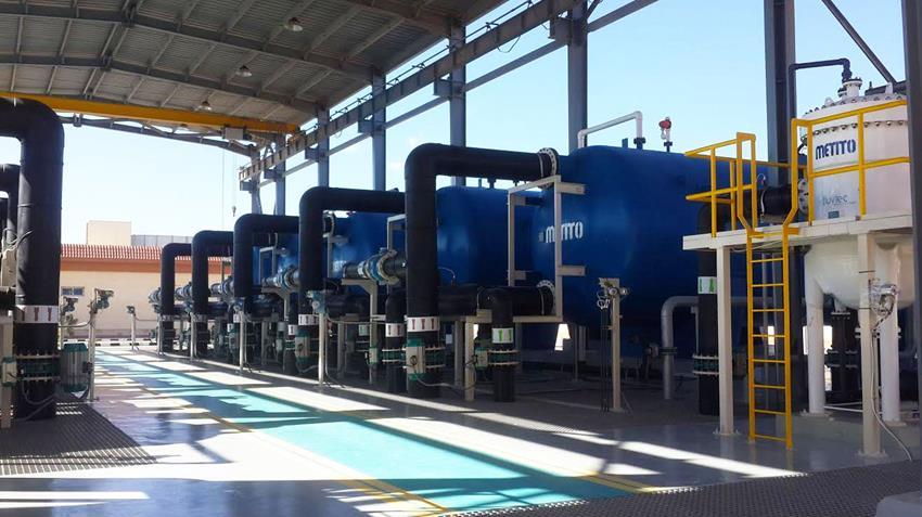 محطة تحلية مياه طابا