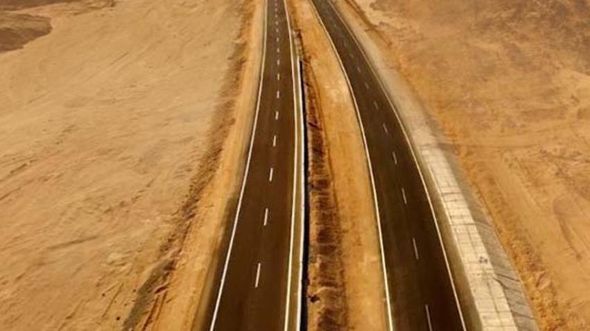 ازدواج طريق سوهاج - البحر الأحمر