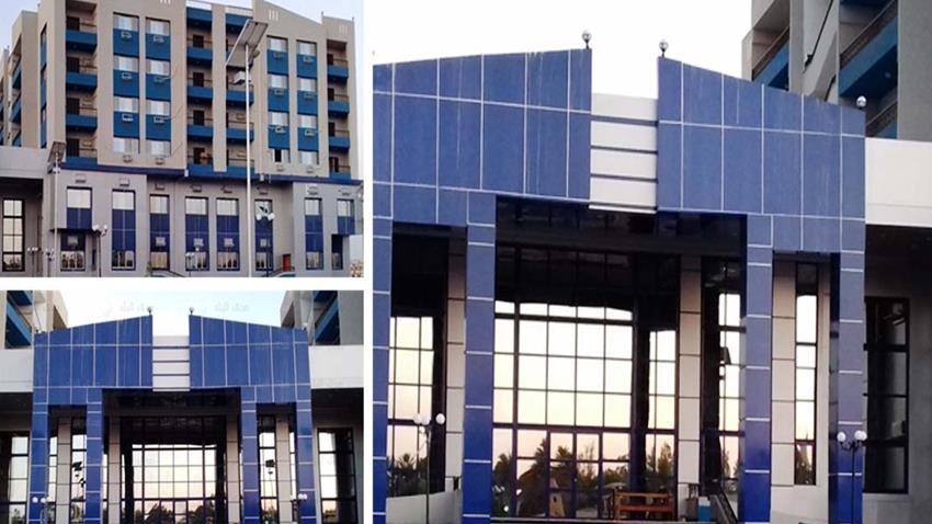 تطوير مبنى العيادات الخارجية لمستشفى جامعة جنوب الوادي