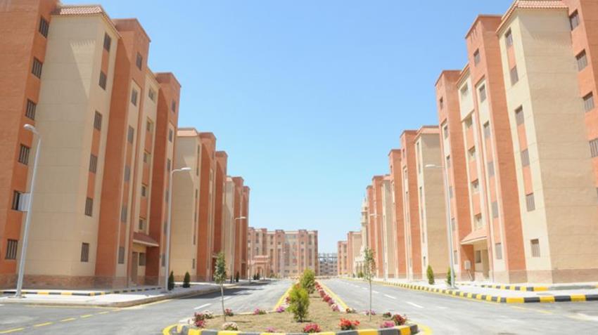 الإسكان الاجتماعي بمدينة برج العرب