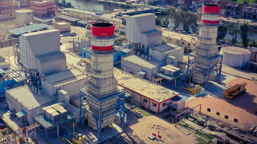 محطة توليد كهرباء المحمودية الغازية