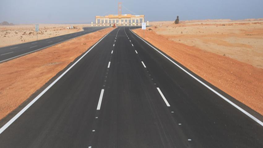 طريق بني سويف - الزعفرانة