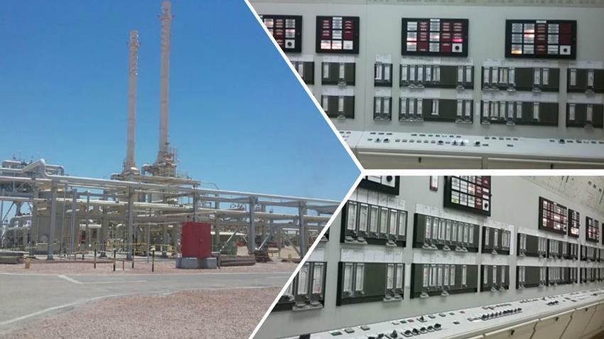 تطوير محطة معالجة الغاز الطبيعي غرب بورسعيد