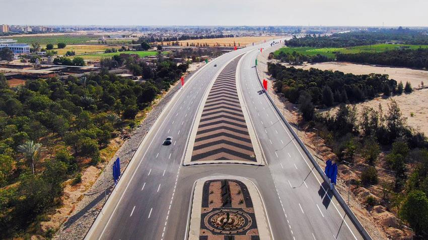 تطوير وتوسعة طريق الإسماعيلية - بورسعيد