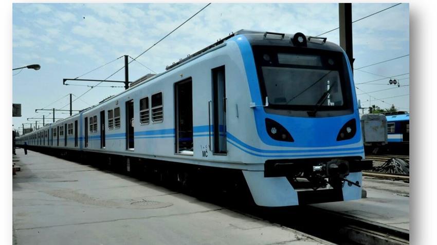 20 قطار مكيف للخط الأول لمترو الأنفاق