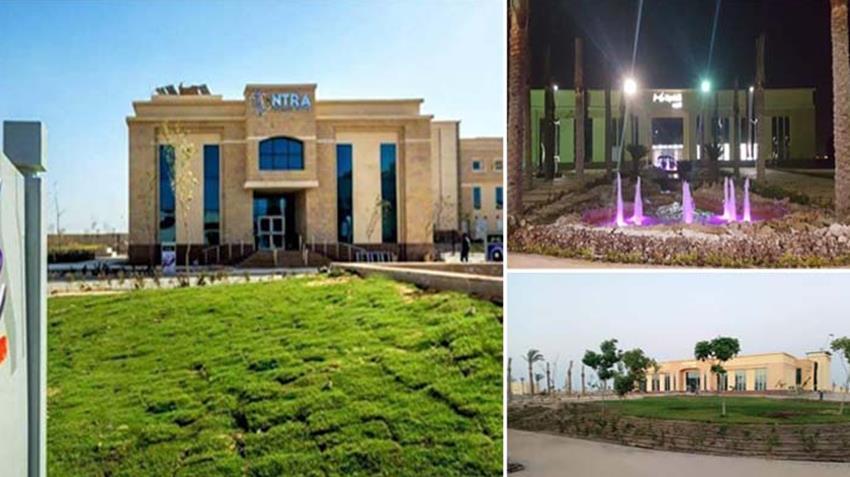 المرحلة الأولى من المنطقة التكنولوجية بمدينة السادات