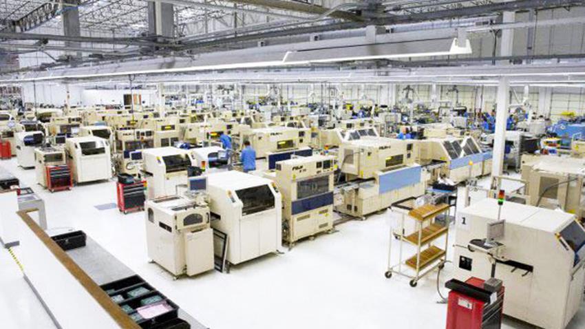 مصنع إنتاج التليفونات المصرية