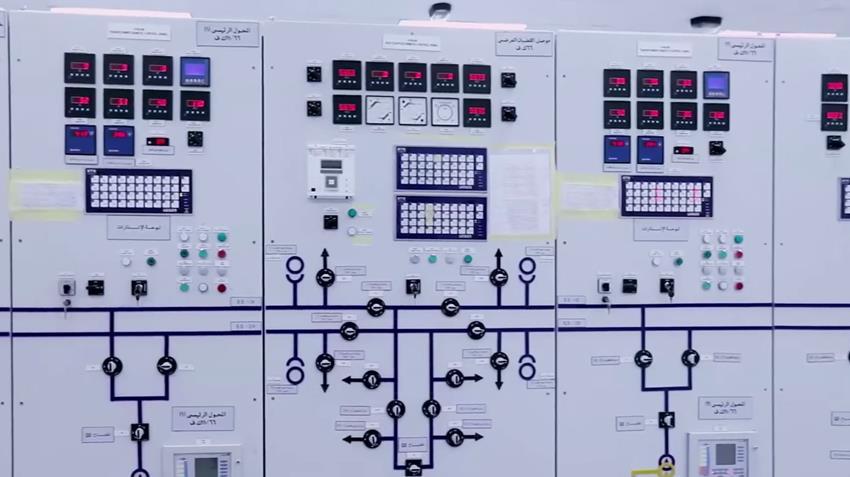 محطة محولات الكهرباء الرئيسية بغليون