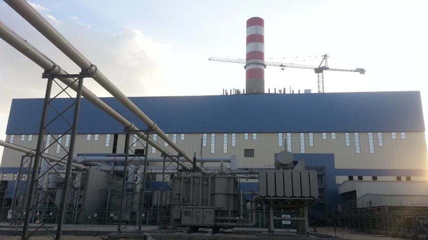 محطة توليد كهرباء السويس البخارية