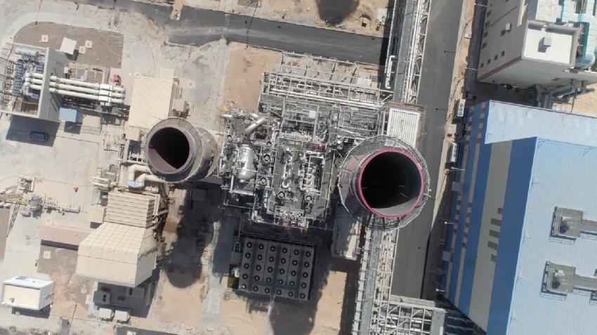 محطة توليد كهرباء الشباب الغازية بالإسماعيلية