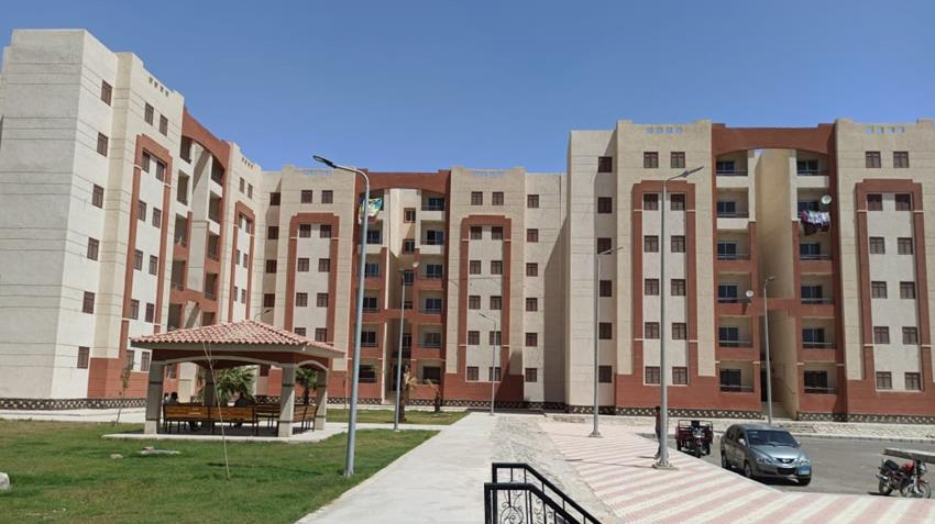 الإسكان الاجتماعي بمدينة قنا الجديدة